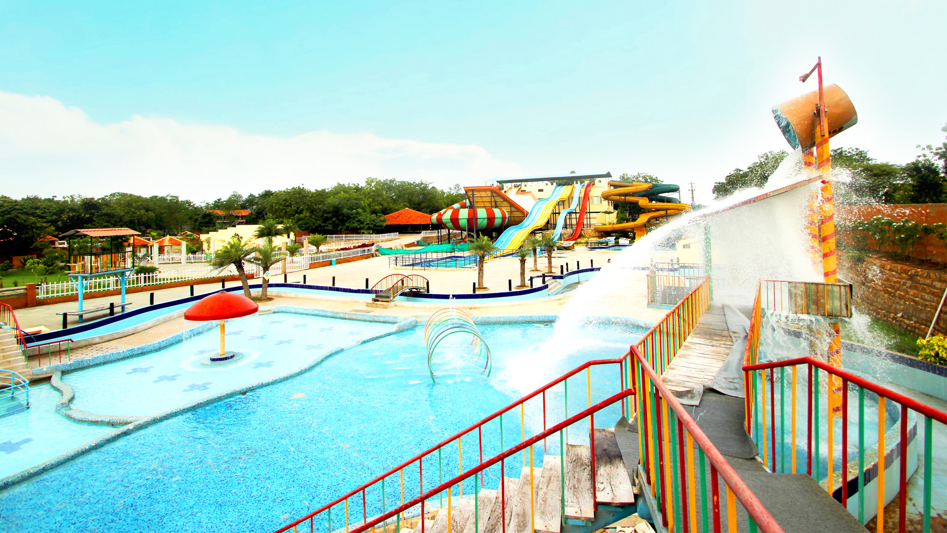 Best water parks resorts for day outing in Hyderabad