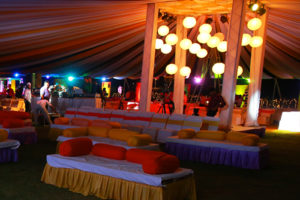 Reception Decoration at Dream Valley Resorts