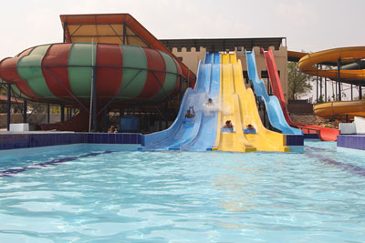 Water Games in Dream Valley Resorts