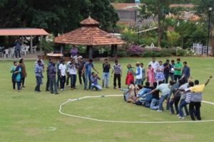 Outdoor games are fun ways to relax and unwind during weekends