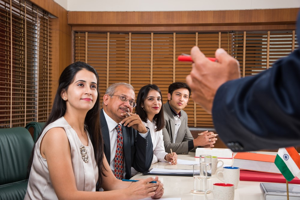 Meetings offer you a conductive environment