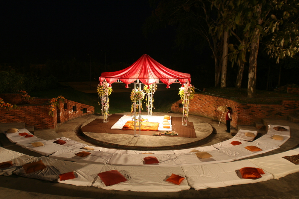 wedding hall at dream valley resort